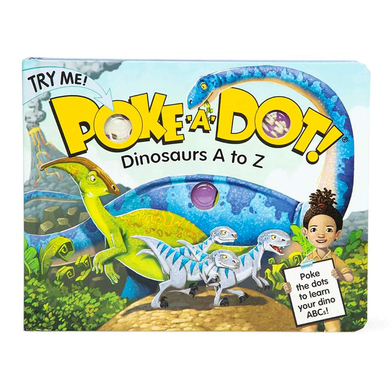 Poke-A-Dot Dinosaurs Board Book-1