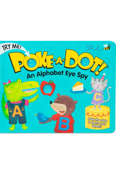 Poke-A-Dot Alphabet Board Book