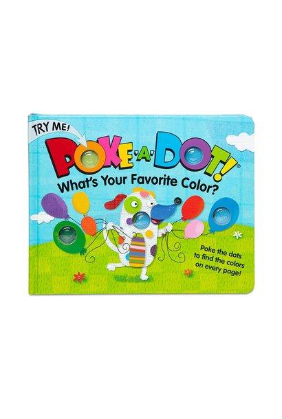 Poke-A-Dot Favorite Colors Board Book