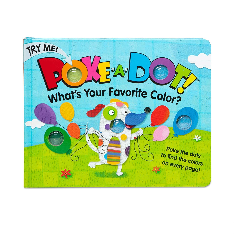Poke-A-Dot Favorite Colors Board Book-1