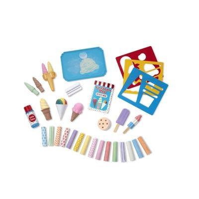 Ice Cream Shop Chalk Set-3