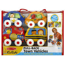 Pull-Back Vehicles Town-2