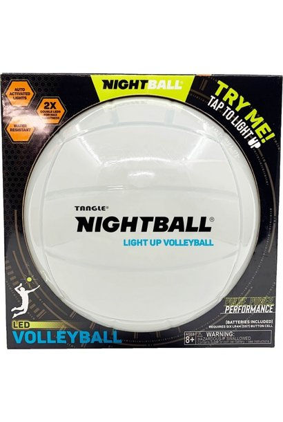 Tangle Nightball Volleyball Pearl