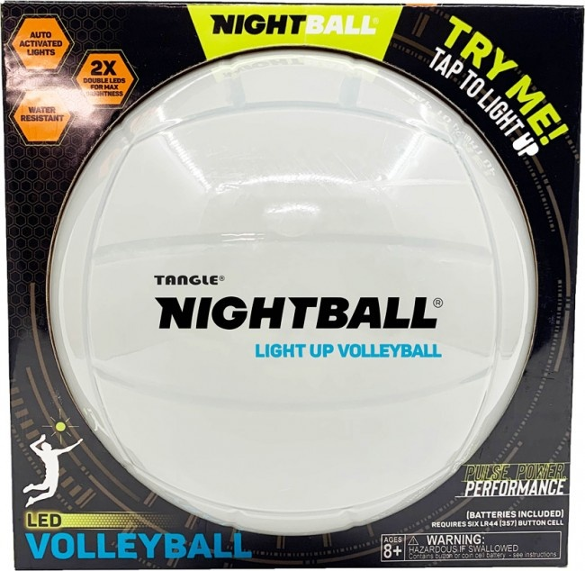 Tangle Nightball Volleyball Pearl-1