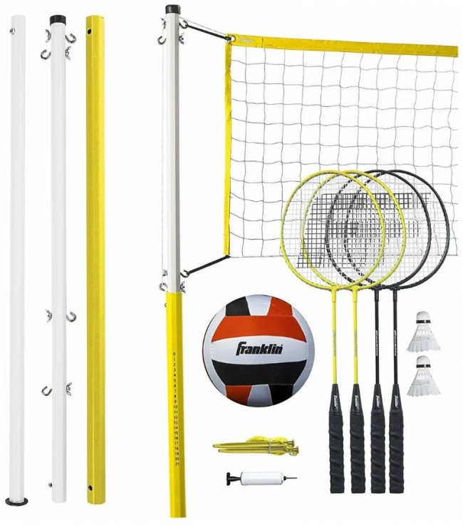 Volleyball & Badminton forFamily-2
