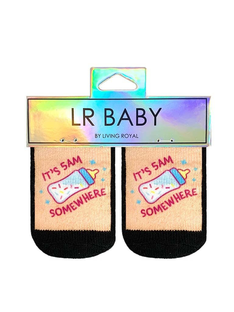 LR Baby Socks It's 5am Somewhere-1