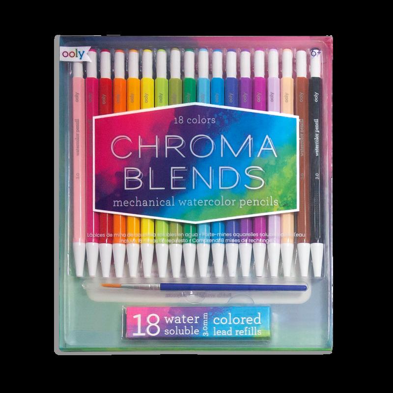 Chroma Blends Mechanical Watercolor Pencils-1