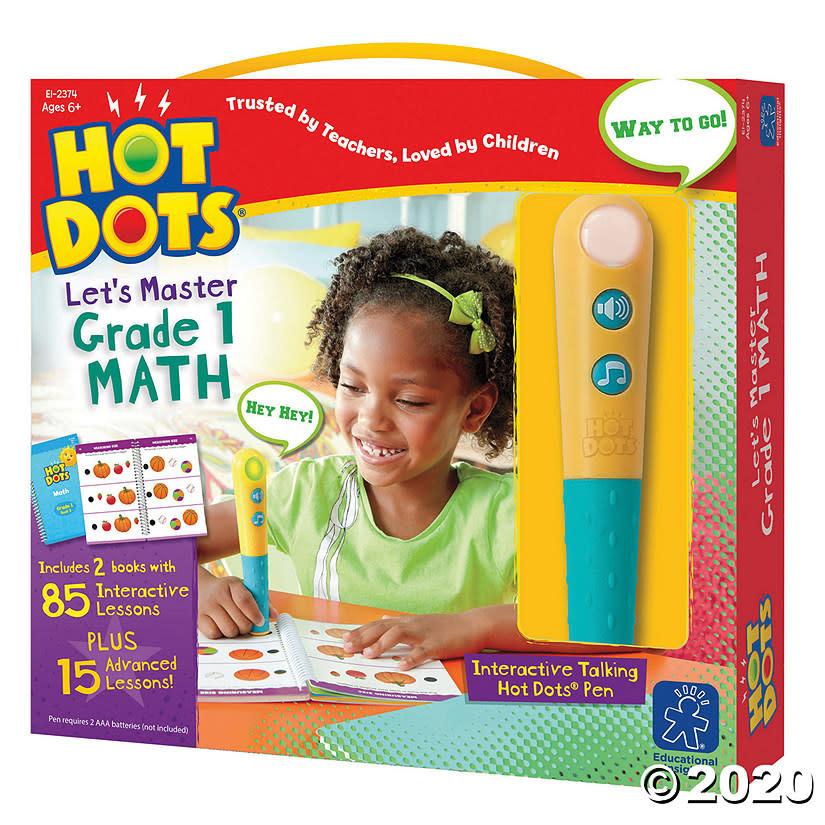 Hot Dots Jr. Let's Master Math 1-1