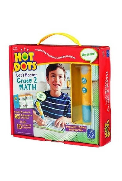 Hot Dots Jr. Let's Master Math 2