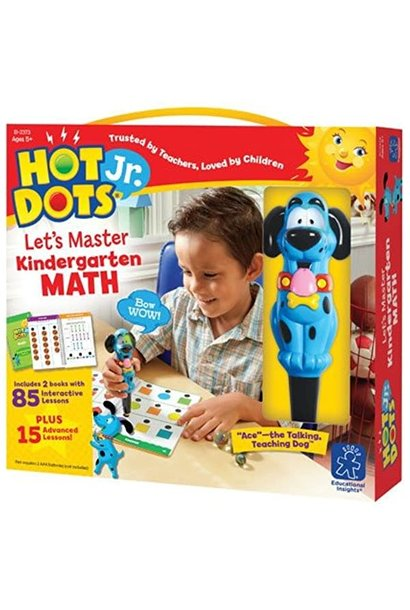 Hot Dots Jr. Let's Master Math K