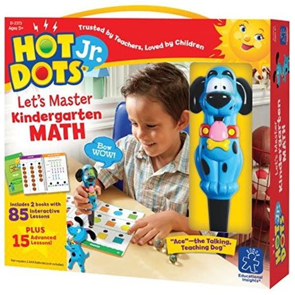 Hot Dots Jr. Let's Master Math K-1
