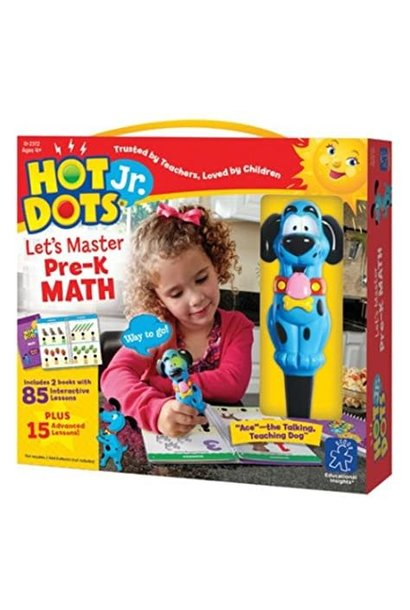 Hot Dots Jr. Let's Master Math PreK