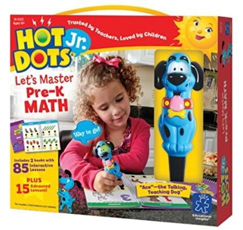 Hot Dots Jr. Let's Master MathPK-1
