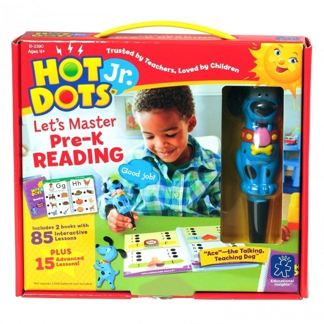 Hot Dots Jr. Let's Master Reading Pre-K-1