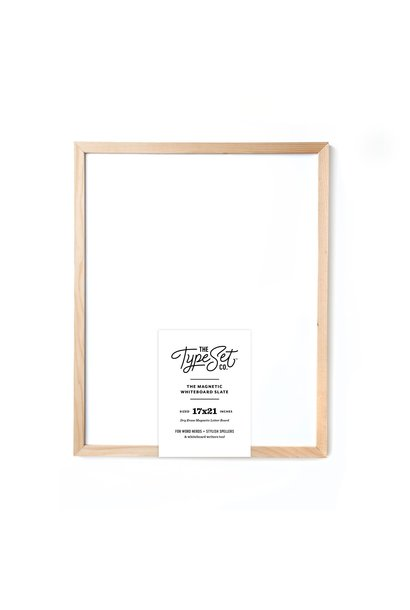 Magnetic Whiteboard 17X21 White