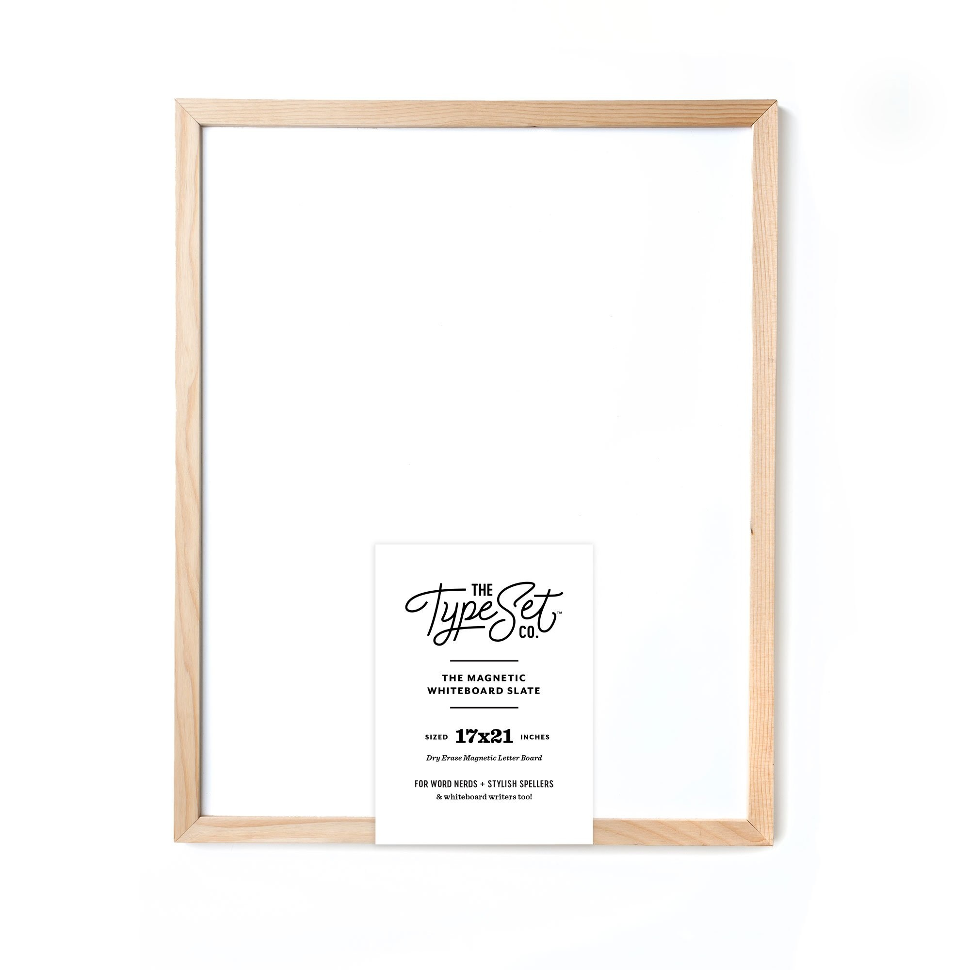 Magnetic Whiteboard 17X21 White-1