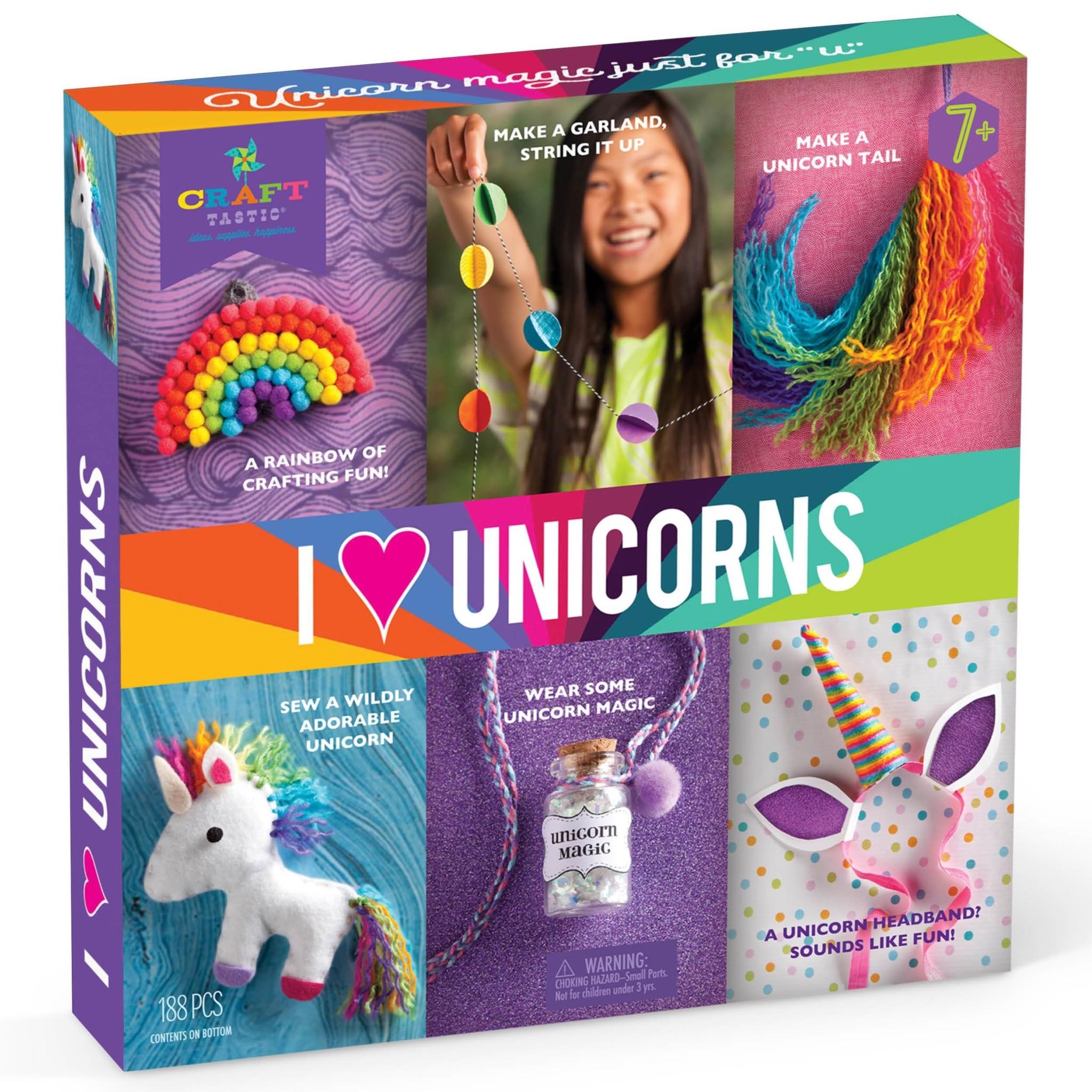 Craft-tastic I Love Unicorns Kit-1