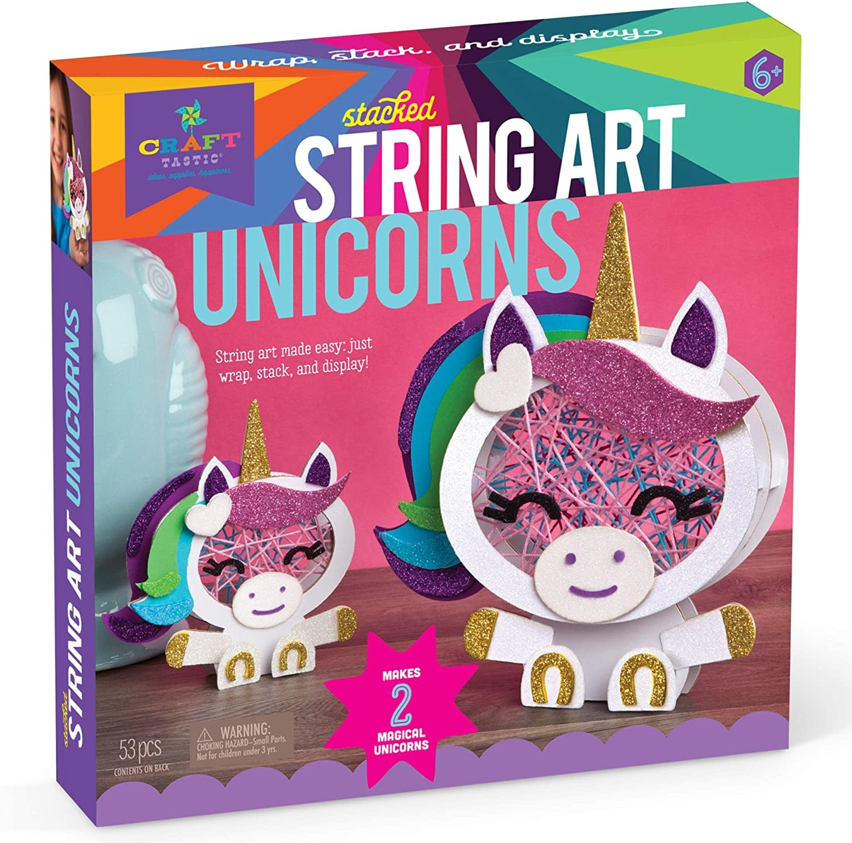 Kit/Stacked String Art Unicorns-4