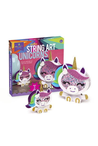 Kit/Stacked String Art Unicorns