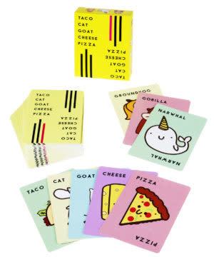 Taco Cat Goat Cheese Pizza Card Game-2