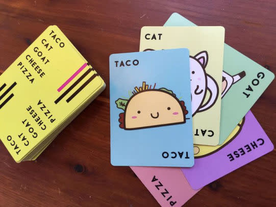Taco Cat Goat Cheese Pizza Card Game-3