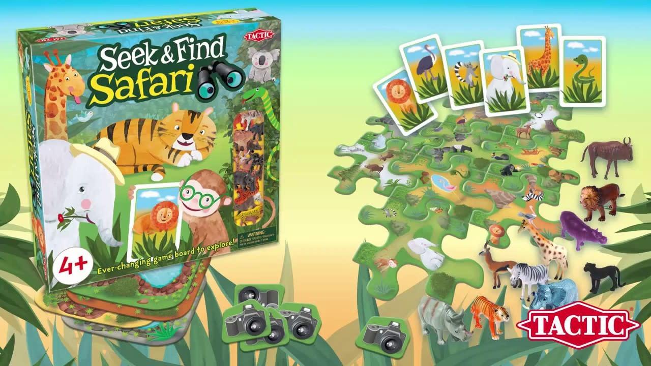 Seek and Find Safari Game-2