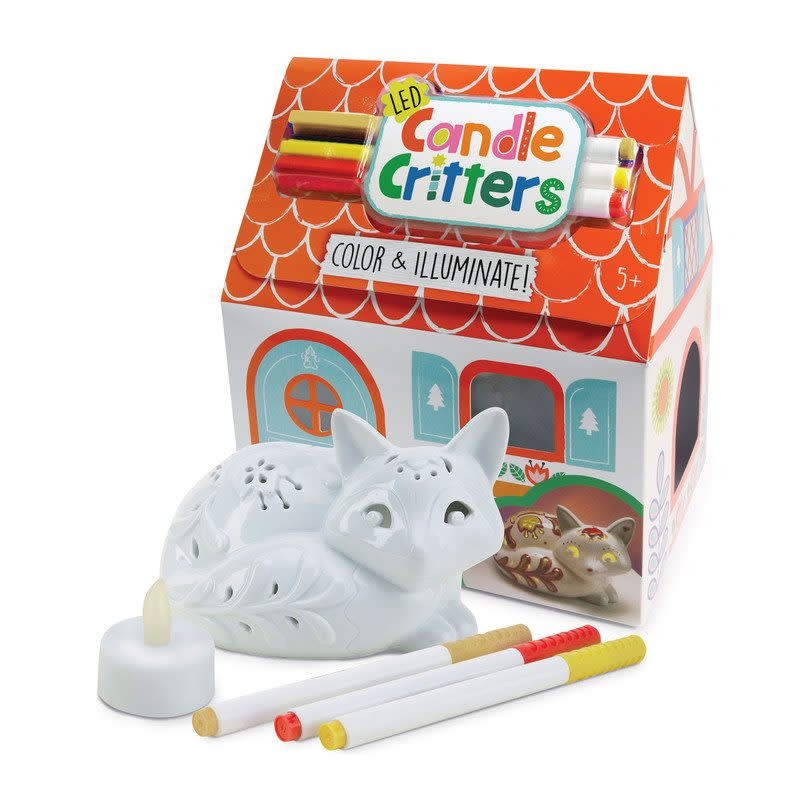 LED Candle Critters Fox-1