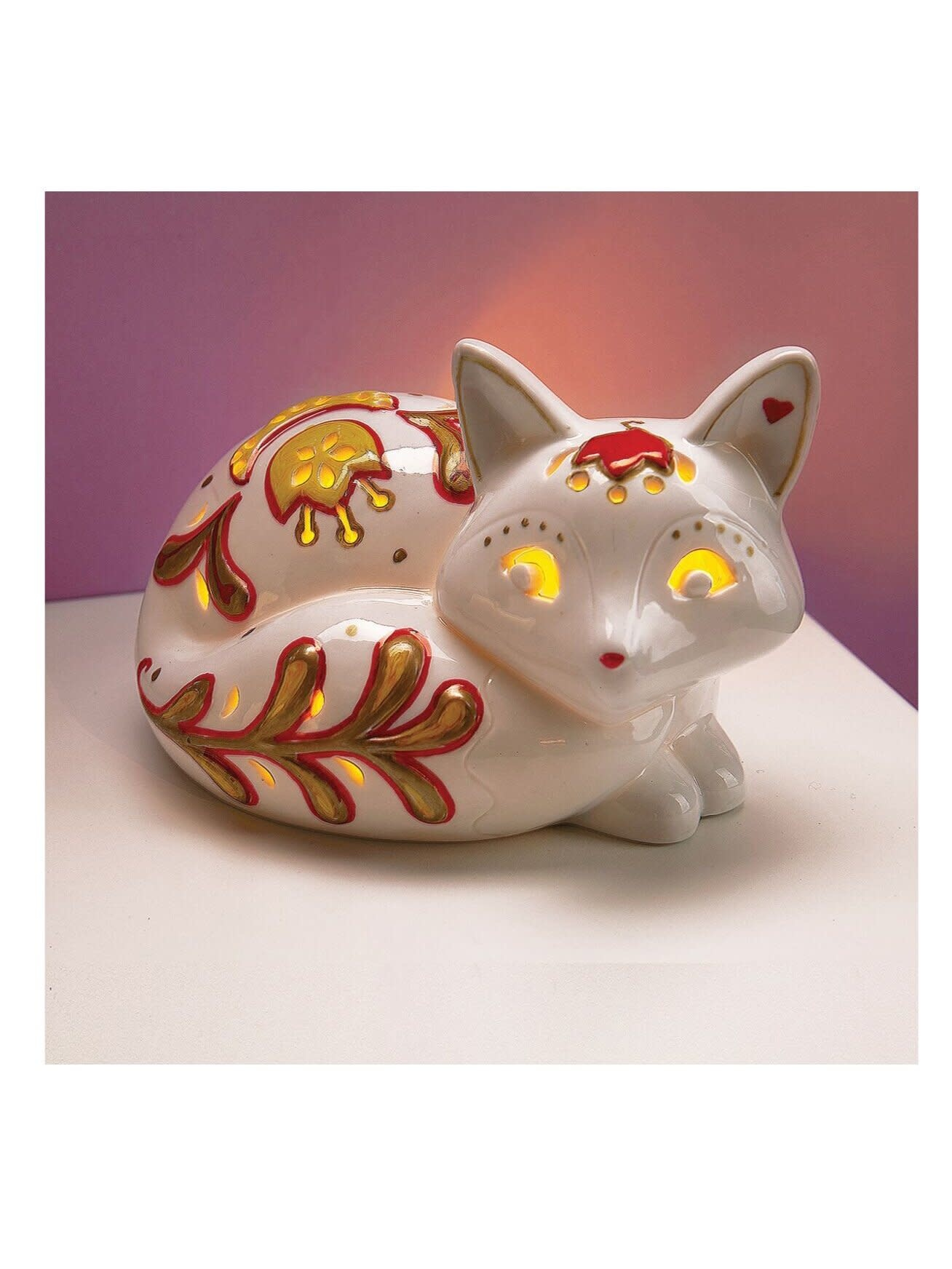 LED Candle Critters Fox-2