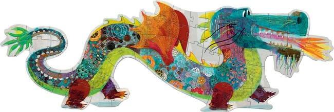 Leon the Dragon Floor Puzzle-3