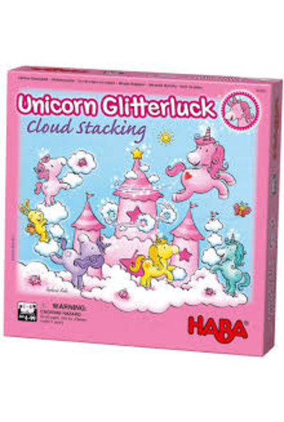 Unicorn Cloud Stacking Game from Haba