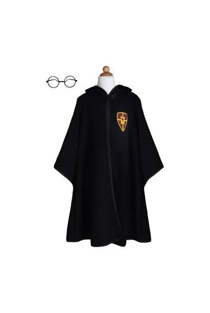 Wizard Cloak & Glasses  Size 7-8