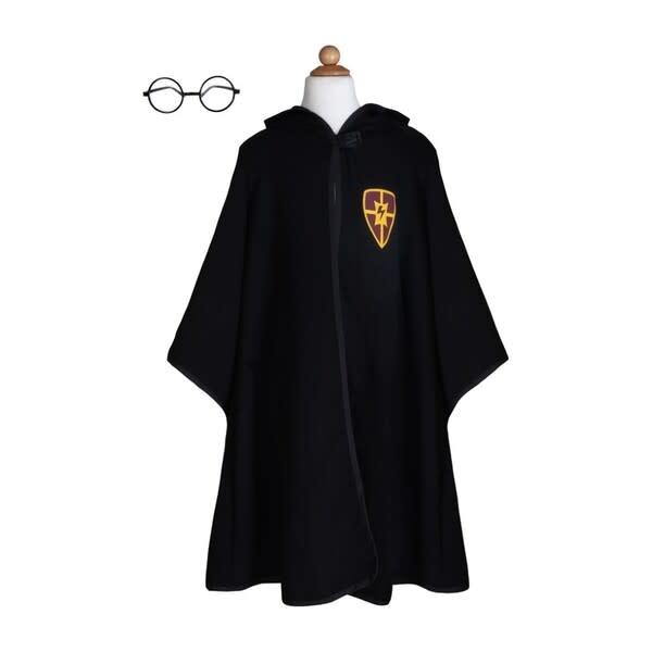 Wizard Cloak & Glasses  Size 7-8-1