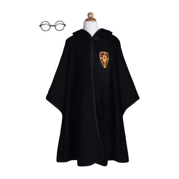 Wizard Cloak & Glasses  Size 5-6-2