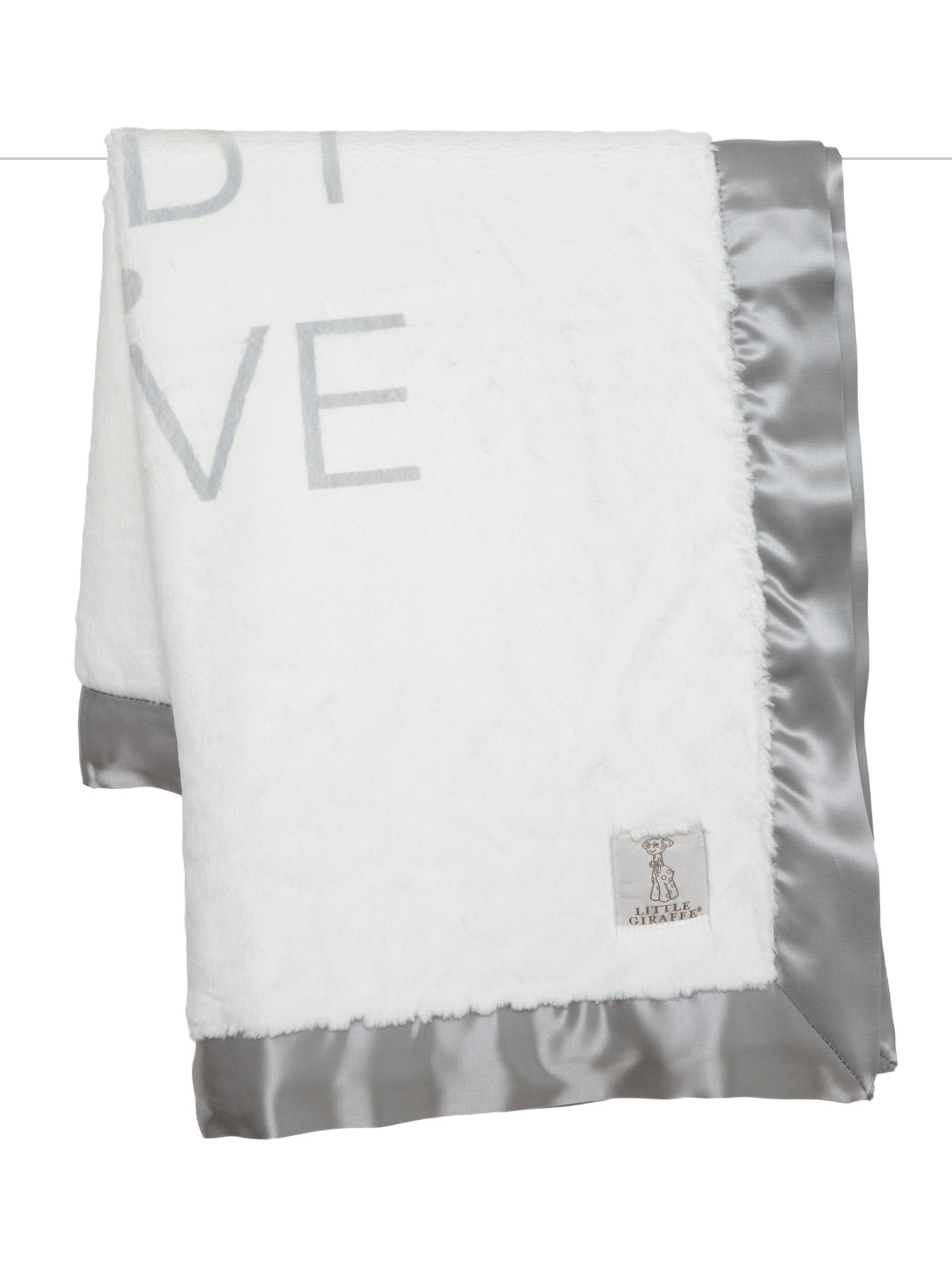LG Luxe Baby Love Blanket Silver-1