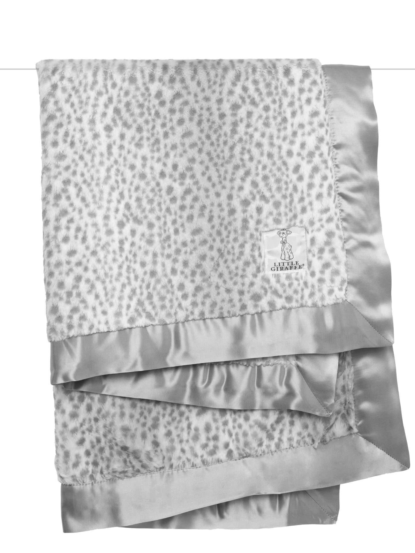 LG Luxe Blanket Snow Leopard-2