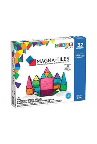 Magna-Tiles 32 pc Clear Set