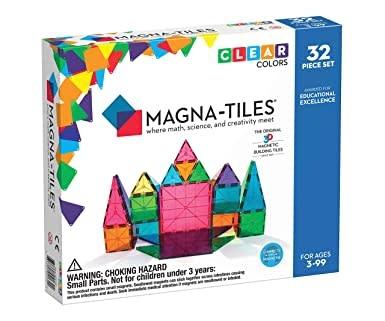 Magna-Tiles 32 pc Clear Set-1