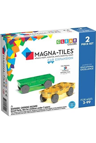 Magna-Tiles Cars 2pc Expansion S