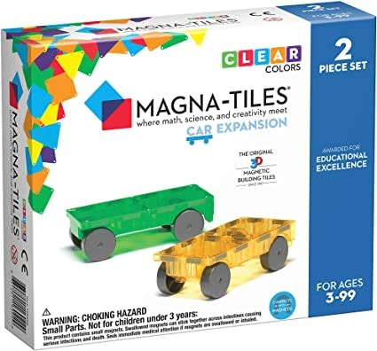 Magna-Tiles Cars 2pc Expansion S-1