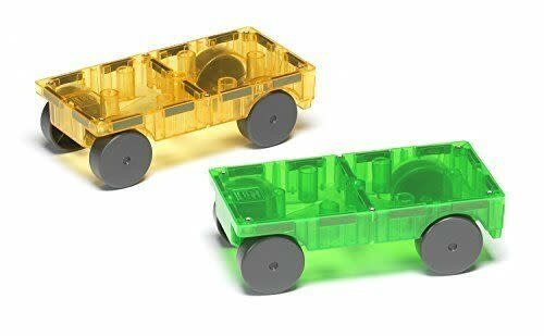 Magna-Tiles Cars 2pc Expansion S-2