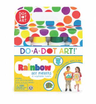 Do A Dot Markers Rainbow 4 Pk-1