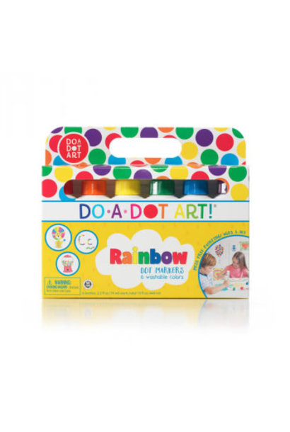 Do A Dot Markers Rainbow 6 pk