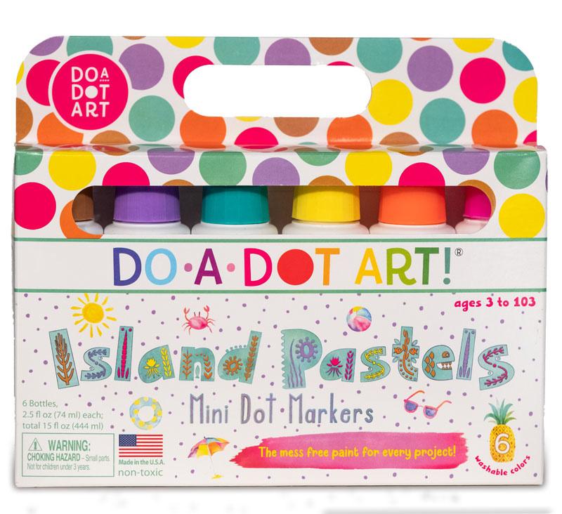 Do A Dot Markers Island Pastels Mini Dot-2