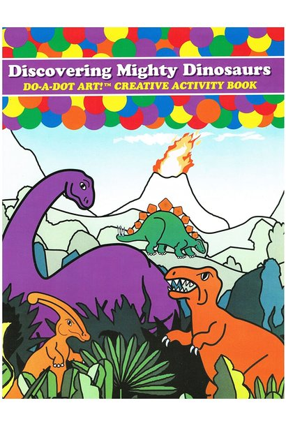 Discovering Dinosaurs Coloring Book