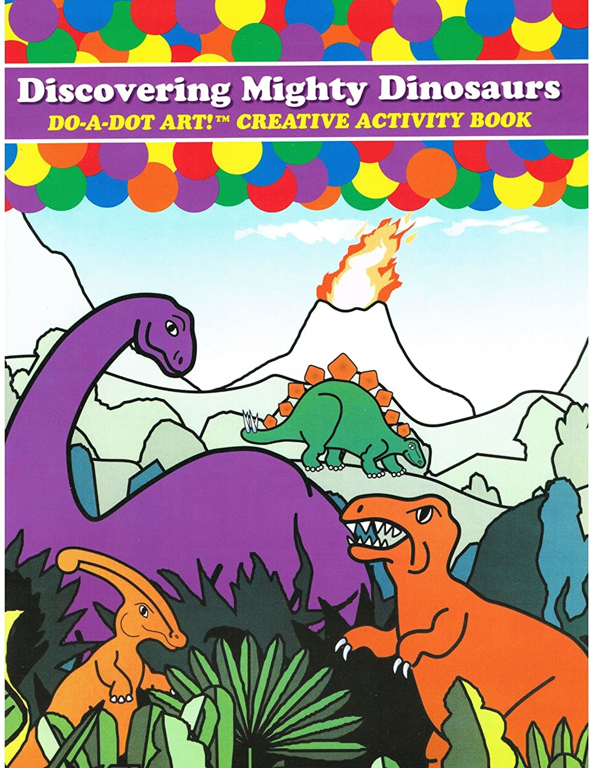 Discovering Dinosaurs Coloring Book-1