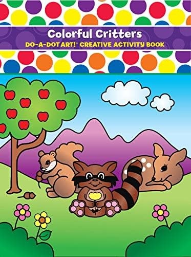 Colorful Critters Coloring Book-1
