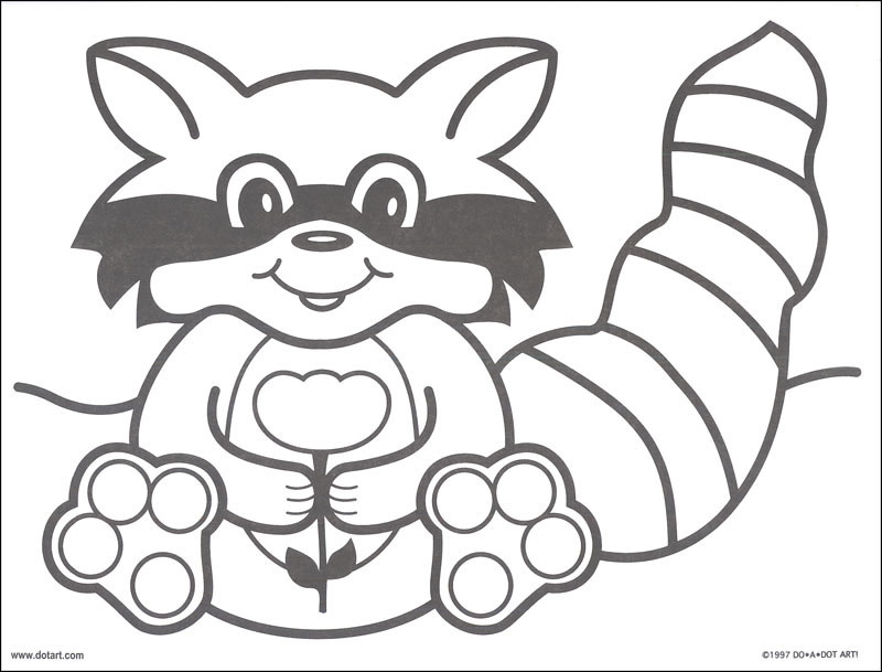 Colorful Critters Coloring Book-3