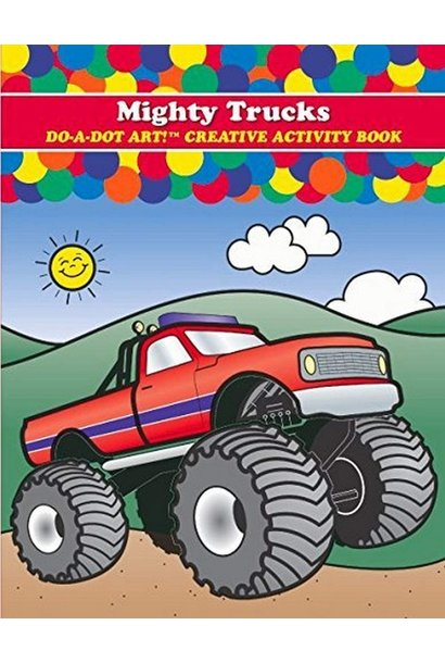 Mighty Truck Coloring Book