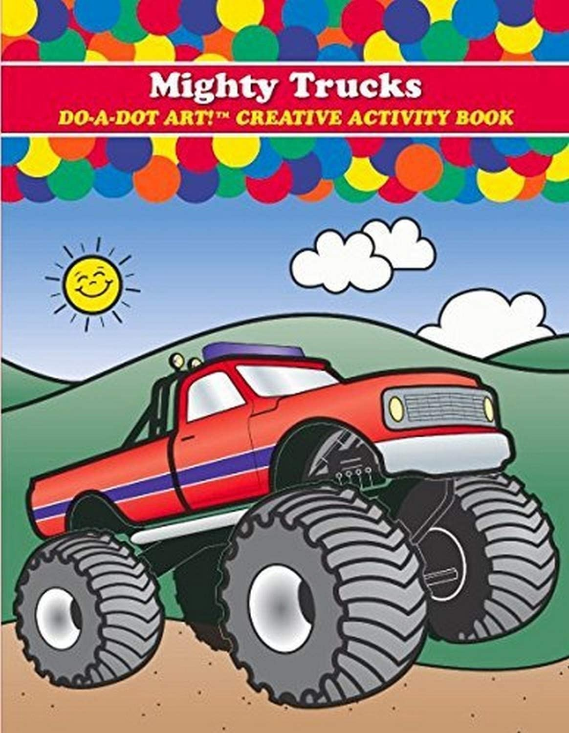 Mighty Truck Coloring Book-1