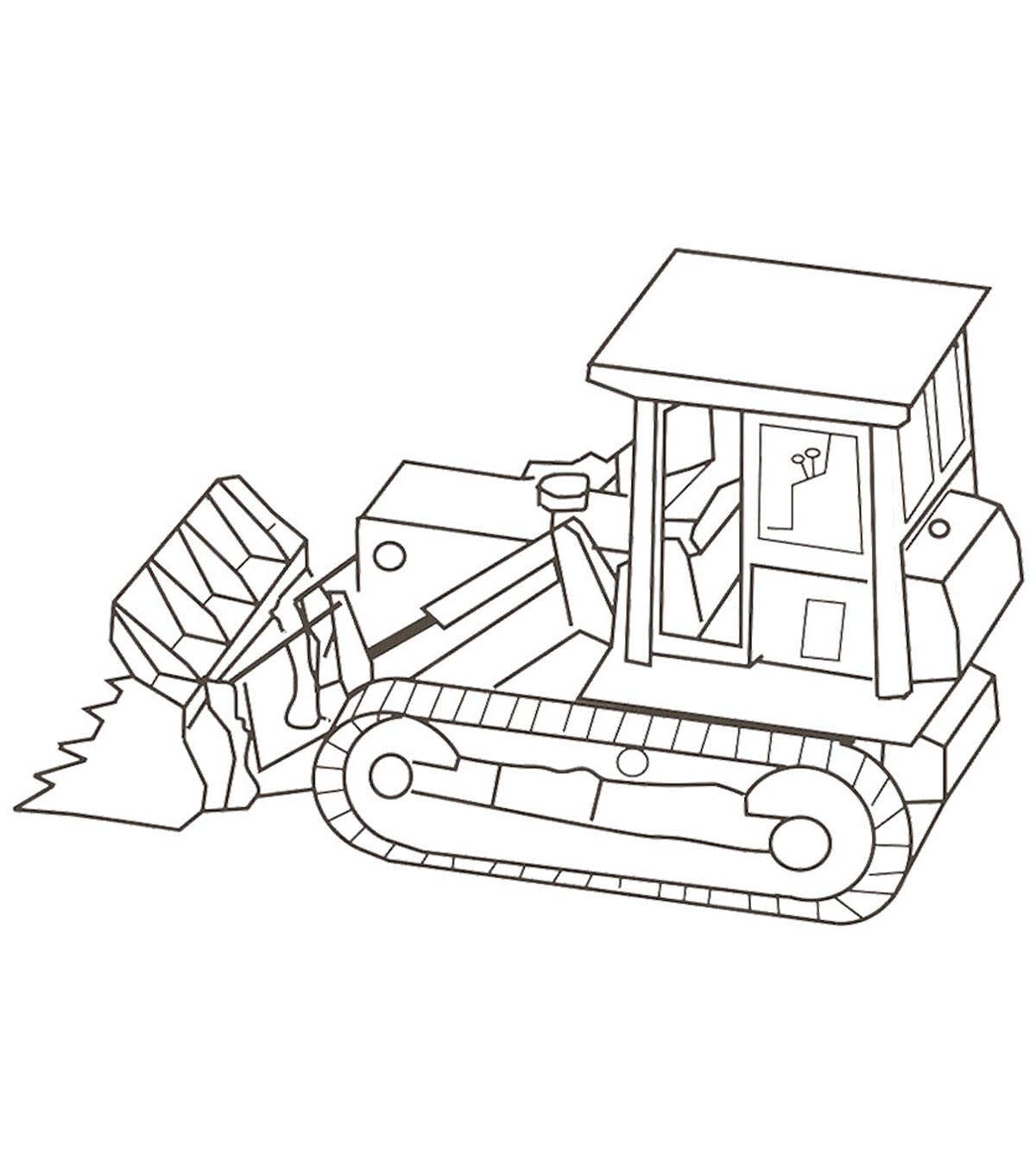 Mighty Truck Coloring Book-2